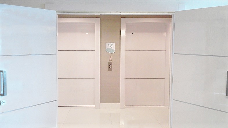 Dayoris Doors Elevator door cladding refacing