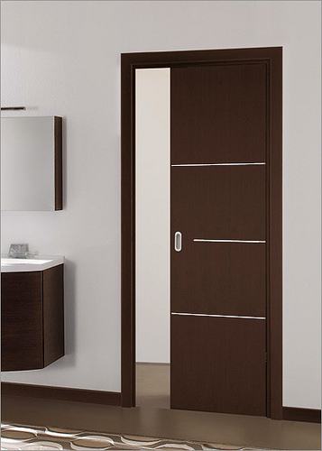 Modern Doors Black Color