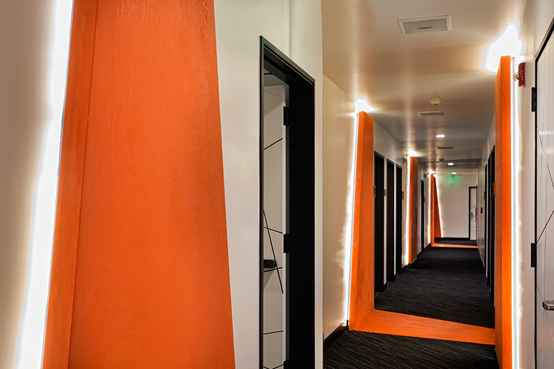1000 images about corridor on pinterest hotel corridor for Hotel entrance door designs