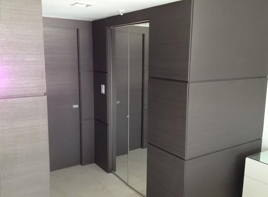 Modern Wall Cladding : Dayoris doors yacht club at portofino wall paneling