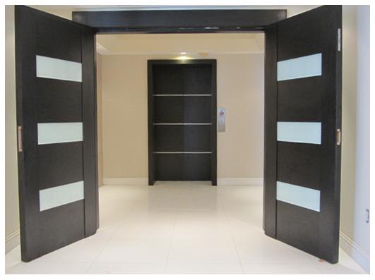 Bellamare Modern Wenge Door