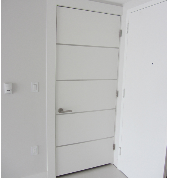Modern White Interior Doors dayoris doors | frosty glossy white wooden flush doors brickell