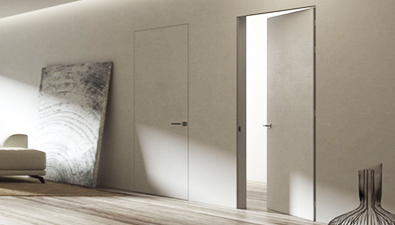 Dayoris Doors flush frameless without casing