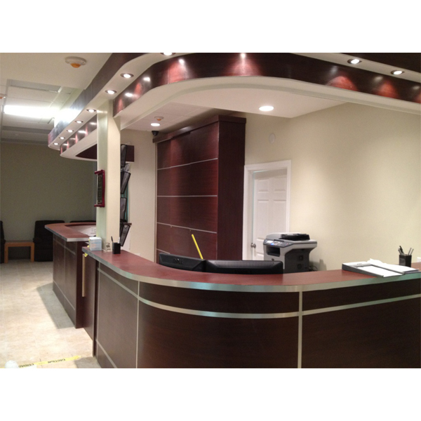 DAYORIS Doors Front Desk Modern Design Medical Office