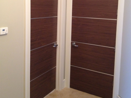 Dayoris Doors Solid Wood Italian Flush Doors Sunny Isles