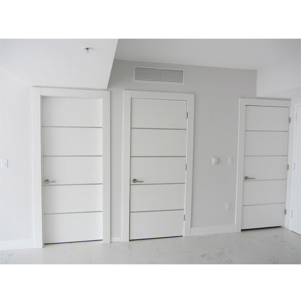 Dayoris Doors Frosty Glossy White Wooden Flush Doors